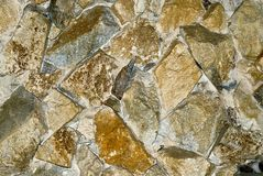 Background with rocks. Picture of background with yellow stones royalty free stock photos