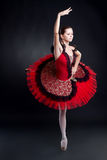 Picture of a ballerina Royalty Free Stock Photos