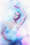 Picture of a beautiful ballet dancer. Stock Photography