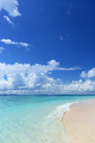 Picture of a beautiful beach in Okinawa Stock Photo