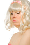 Picture of a beautiful blond woman Royalty Free Stock Photos