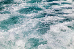 Blue sea waves. Picture of beautiful blue sea waves in Croatia, Europe Royalty Free Stock Photography