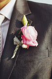 Picture of beautiful boutonniere Stock Photos
