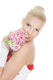 Picture of a beautiful bride Royalty Free Stock Photo