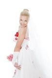 Picture of a beautiful bride Stock Photography