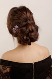 Picture of beautiful hairstyle Royalty Free Stock Photo