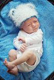 Picture of a beautiful little baby. Royalty Free Stock Images