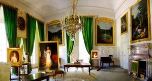 Bedroom inside Versailles Paris France stock images
