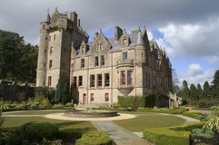 Picture of Belfast Castle in Northern Ireland. Stock Photos