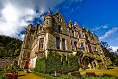 Picture of Belfast Castle in Northern Ireland. Beautiful belfast castle stock image