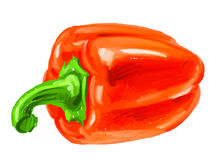 Picture of bell-pepper Stock Images