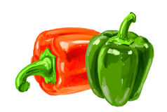 Picture of bell-pepper Stock Photos