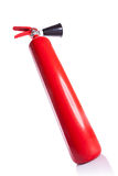 Picture from bellow of a fire extinguisher Stock Images