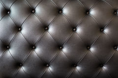 picture of black genuine leather Royalty Free Stock Photos