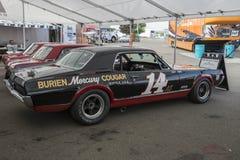 Mercury cougar race car Royalty Free Stock Photography
