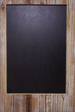 The picture of blank blackboard on wooden frame Royalty Free Stock Image