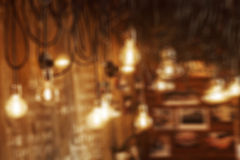 Picture of blurred bulbs Stock Images