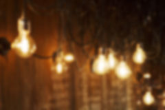 Picture of blurred bulbs Royalty Free Stock Photo