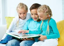 Picture book Royalty Free Stock Photos