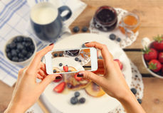 Picture of breakfast Stock Images