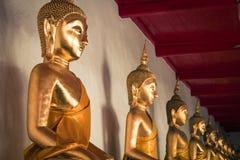 Picture of Buddha statue at Wat Pho temple. Bangkok, Thailand. Royalty Free Stock Image