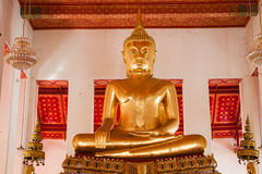 Picture of Buddha statue at Wat Pho temple. Bangkok, Thailand. Stock Images