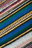 Picture of Bulgarian hand-made rag-carpets Royalty Free Stock Photography