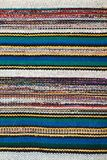 Picture of Bulgarian hand-made rag-carpets Royalty Free Stock Image