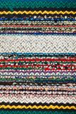 Picture of Bulgarian hand-made rag-carpets Stock Photos