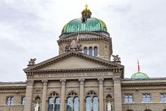 Bundeshaus Bern. Picture of the Bundeshaus in Bern, Switzerland royalty free stock image
