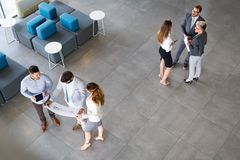 Picture of business people discussing in their company Stock Images