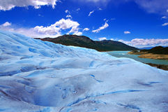 Picture captured in Perito Moreno Glacier in Patagonia (Argentin Stock Photo