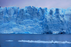 Picture captured in Perito Moreno Glacier in Patagonia Royalty Free Stock Photos