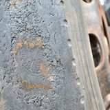 A Picture Of Car tire Royalty Free Stock Photo