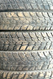 A Picture Of Car tire Stock Photography