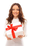 Picture of cheerful santa Royalty Free Stock Photography