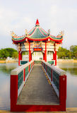Picture of a chinese traditional gloriette Stock Photography
