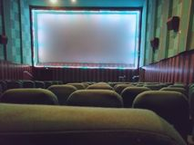 Picture of an cinema hall stock image