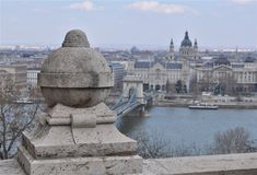 A view over the city Budapest Stock Image