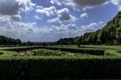 Picture of Cliveden Garden in Taplow, Backinghamshire, UK Royalty Free Stock Photo