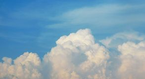 Cloudy sky. Picture of a cloudy sky Royalty Free Stock Image