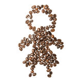Picture of coffee beans Royalty Free Stock Photography