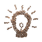 Picture of coffee beans Royalty Free Stock Images