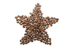 Picture from coffee beans Royalty Free Stock Photo