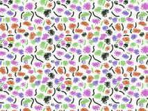 Colored seamless pattern royalty free stock photography