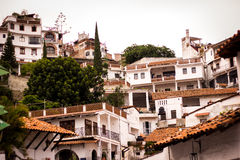 Picture of the colrful town of Taxco, Guerrero. Stock Photo