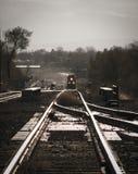 Coming Train Stock Photo