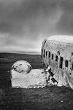 Picture of the crashed DC-3 airplane Stock Photography