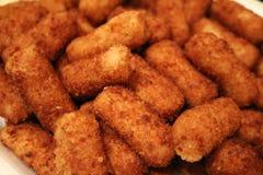Croquette. A picture of cuban cuisine croquettes Stock Image