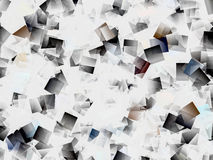 Cubistic pattern Stock Image
